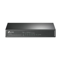 Tp-Link TL-SF1008P, 8-port 10/100M PoE Switch, 8 10/100M RJ45 ports including 4 PoE ports, Steel
