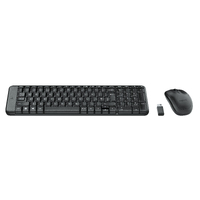 Logitech MK220 Wireless Keyboard Black 920-003235