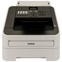 Brother FAX-2840 Laser Fax Machine-Stand alone 33.6k bps Laser Fax Machine, Up to 400 Page Memory, Sheet-fed Digital Copier, Telephone Handset, Laser