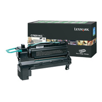 Lexmark C792X1KG, C792  Black Extra High Return Program Print Cart 20K