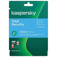 Kaspersky KL1949EOCDS Total Security 3 Device Base Card, 2 Years