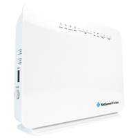Netcomm NF10W wireless router Single-band (2.4 GHz) Fast Ethernet White