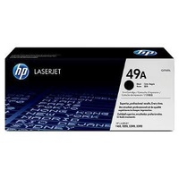 HP Q5949A, 49A Black Laserjet Toner Cartidges, Print Yeild: 2500 Pages, Compatible Model: HP Laserjet Printers 1160, 1320 1320N 3390, 3392