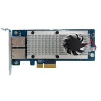Qnap LAN-10G2T-X550, Dual-port 10 Gigabit Network Expansion Card For Rackmount and Tower Models (10GBASE-T interface)