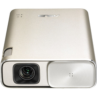 ASUS ZenBeam Go E1Z USB Pocket Projector, 150 Lumens, Built-in 6400mAh Battery, Up to 5-hour Projection time, Power Bank, Auto Keystone Correction, Mi