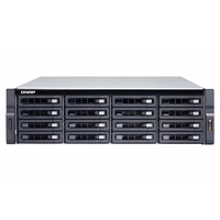 Qnap TS-1673U-8G, 16 Bay Rackmountable Diskless NAS, AMD R-Series RX-421ND Quad-core 2.1GHz processor (Turbo core up to 3.4GHz), 8GB DDR4 (2x 4GB), 51