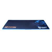 Dragonwar GP-012, Front Sight keyboard Mat + Mouse Mat 2in1 (Control), Blue
