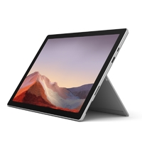 "Microsoft PVT-00007, Surface Pro 7 for Business, Platinum,12.3"", I7-1065G7, 16GB,256GB SSD, Win 10 Pro"