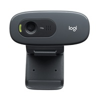 Logitech C270i, HD Webcam, 720p/30 Frames, Plug and Play, Built-in Noise Reducing Mic