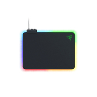 Razer RZ02-03020100-R3M1, Firefly V2 - Hard Surface Mouse Mat with Chroma RGB Lightning, Non Slip Rubber Base