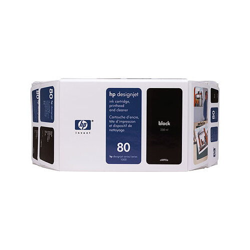 HP C4871A, 80 Black Ink Cartridge