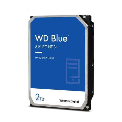 "Western Digital WD20EZBX, 3.5"", PC Desktop Hard Drive, 2TB, SATA, HDD, Blue"